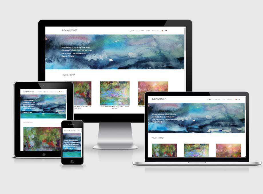 Künstler Homepage
