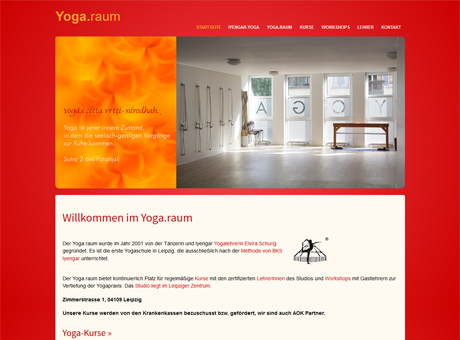 Website mit WordPress