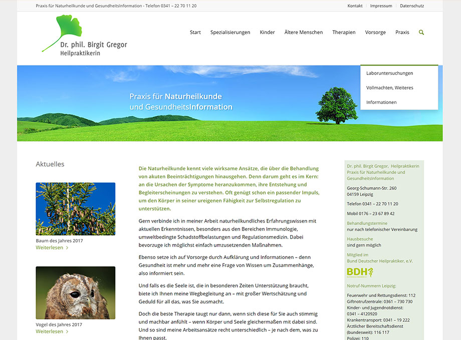 Webdesign WordPress Leipzig