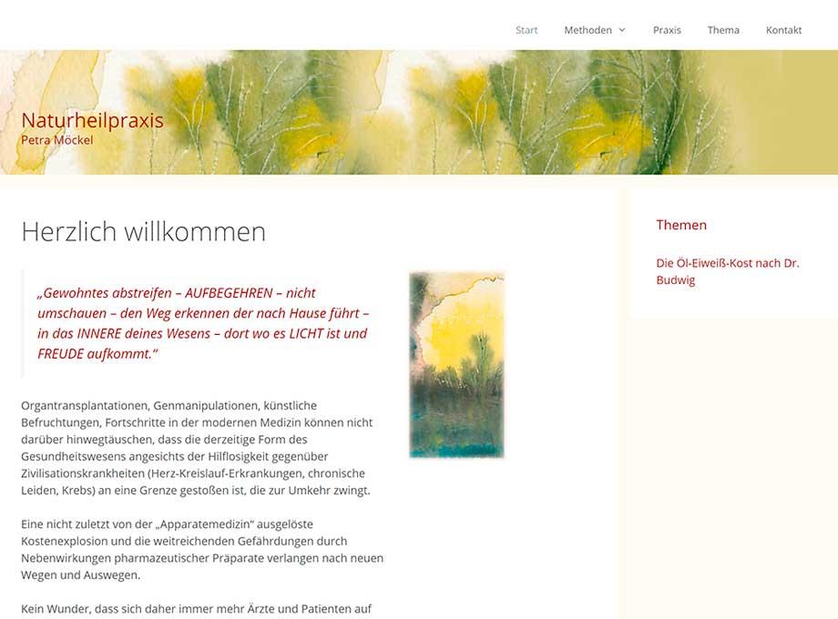 Webdesign Naturheilpraxis Leipzig
